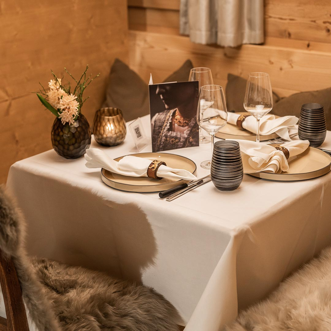 The Appenzeller Lounge for cozy winter days with Raclette and Fondue