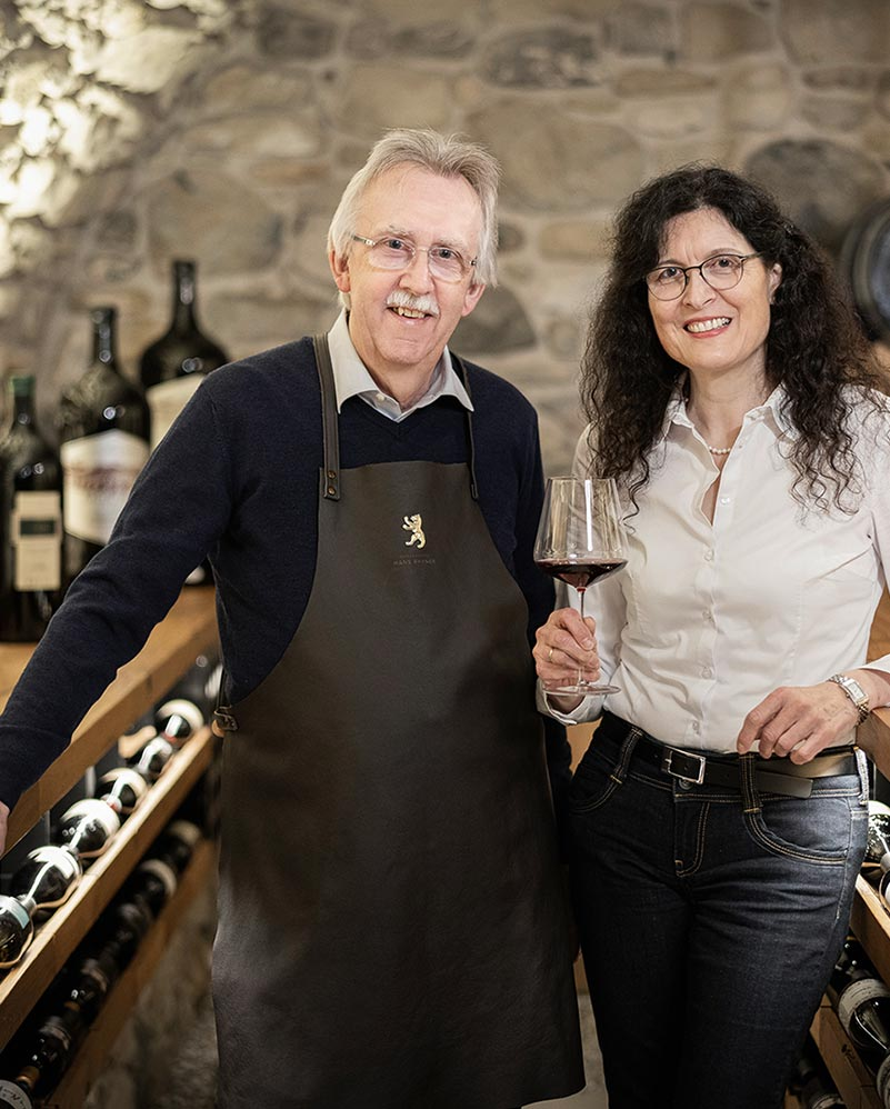 Wine Cellar - Enjoyment with Hans and Beatrice Rhyner